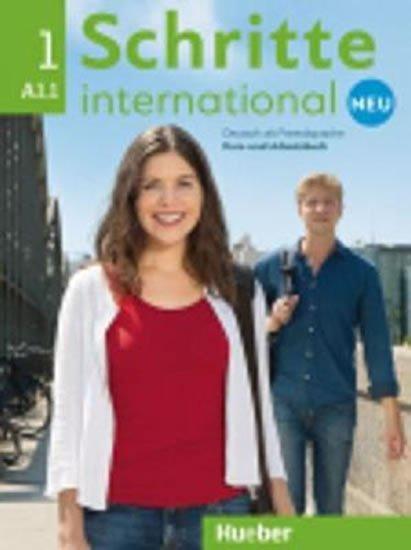 Cadwallader Jane: Schritte international Neu 1: Kursbuch + Arbeitsbuch mit Audio-CD