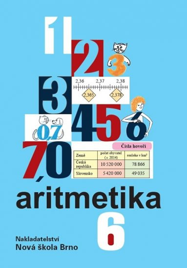 Rosecká Zdena: Aritmetika 6 - učebnice