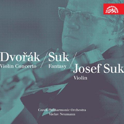 Různí interpreti: Dvořák, Suk: Houslový koncert, Romance - Fantasie, Pohádky - CD
