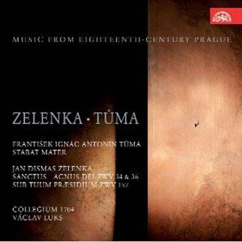 Zelenka Jan Dismas, Tůma František Ignác Antonín: Sanctus et Agnus Dei/Stabat Mater - CD
