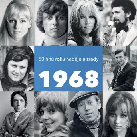Various: 1968 - 50 hitů roku naděje a zrady - 2 CD