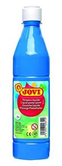 neuveden: JOVI temperová barva 500ml v lahvi modrá