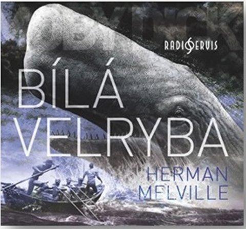 Melville Herman: Bílá velryba - CDmp3 (Čte Miroslav Středa)