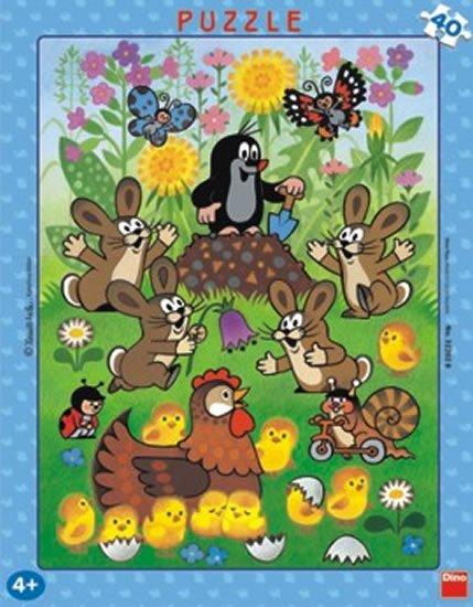 neuveden: Krtek a Velikonoce - Puzzle 40