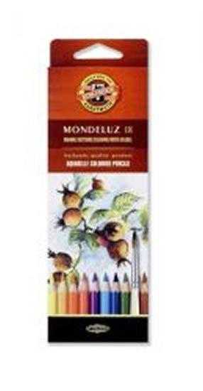 neuveden: Koh-i-noor pastelky MONDELUZ akvarelové souprava 18 ks v papírové krabičce