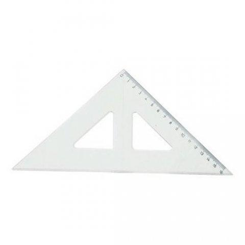 neuveden: Koh-i-noor trojuhelník s kolmicí transparentní