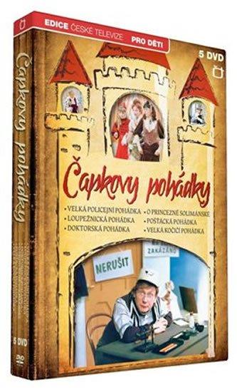 neuveden: Čapkovy pohádky - 5 DVD