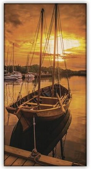 neuveden: Obraz dřevěný: Sunset, 315x630