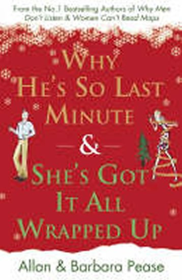 Peasovi Allan a Barbara: Why He´s So Last Minute & She´s Got it All Wrapped Up