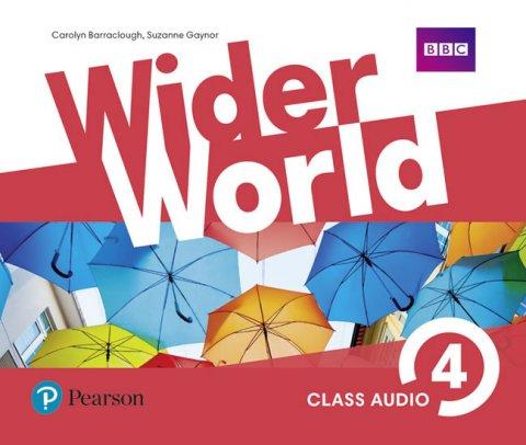 neuveden: Wider World 4 Class Audio CDs