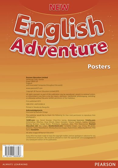 Worrall Anne: New English Adventure 2 Posters