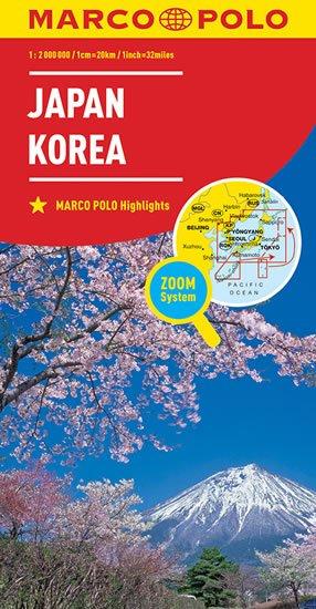 neuveden: Japonsko, Korea  1:2M
