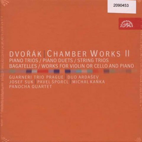 Dvořák Antonín: Komorní dílo II - 7CD