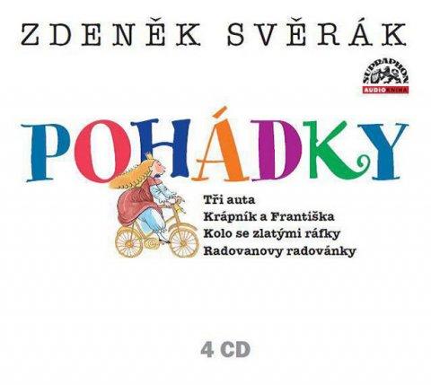 Svěrák Zdeněk: Svěrák Zdeněk - Pohádky 4CD