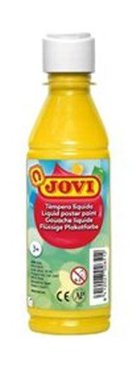 neuveden: JOVI temperová barva 250ml v lahvi žlutá