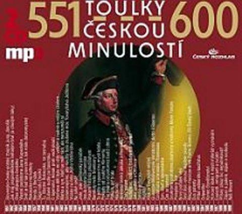kolektiv autorů: Toulky českou minulostí 551-600 - 2CD/mp3