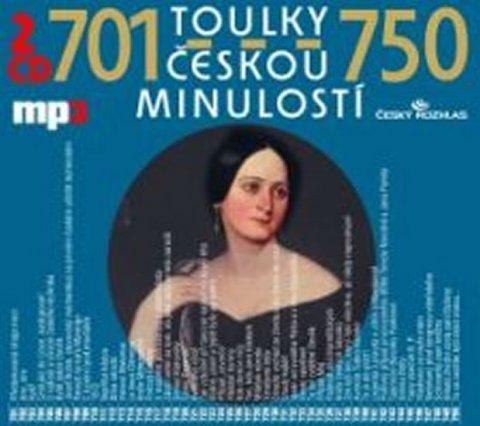 kolektiv autorů: Toulky českou minulostí 701-750 - 2CD/mp3