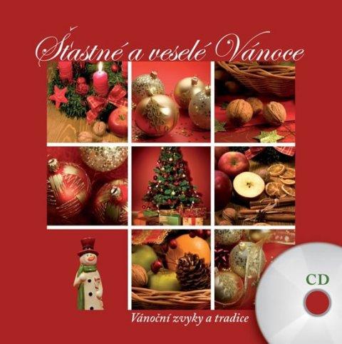 neuveden: Šťastné a veselé Vánoce - CD + kniha