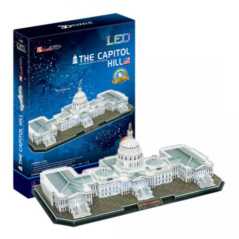 neuveden: Puzzle 3D The Capitol Hill / led -
