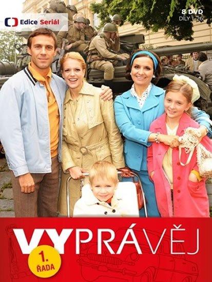 neuveden: Vyprávěj 1. řada (reedice) - 8 DVD
