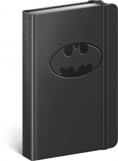 neuveden: Notes - Batman – Logo, linkovaný, 10,5 x 15,8 cm