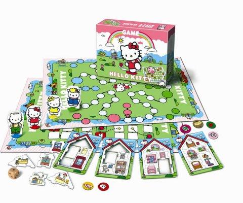 neuveden: Společenská hra - Hello Kitty - velká hra