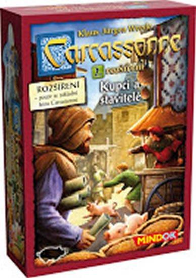 Wrede Klaus-Jürgen: Carcassonne: Rozšíření 2: Kupci a stavitelé
