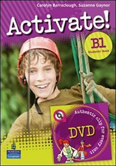 Barraclough Carolyn: Activate! B1 Students´ Book w/ DVD Pack