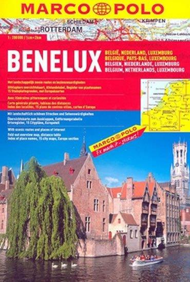 neuveden: Benelux/atlas-spirála 1:200T MD
