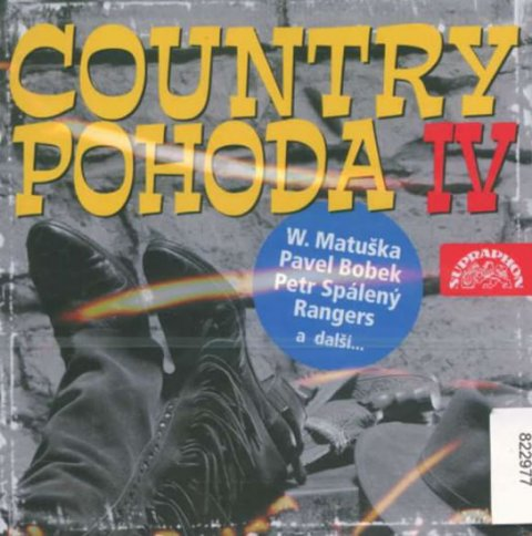 Různí interpreti: Country pohoda IV. - CD