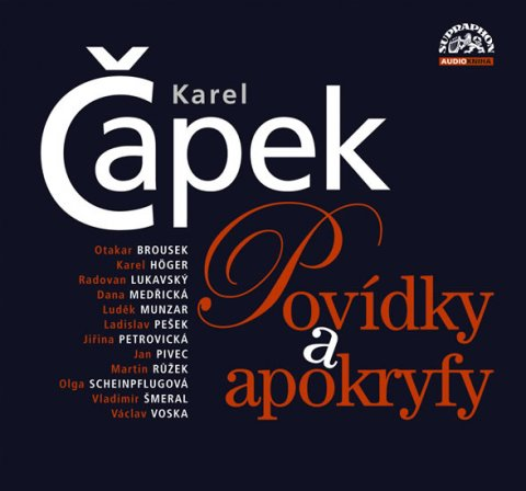 Čapek Karel: Povídky a apokryfy 2CD