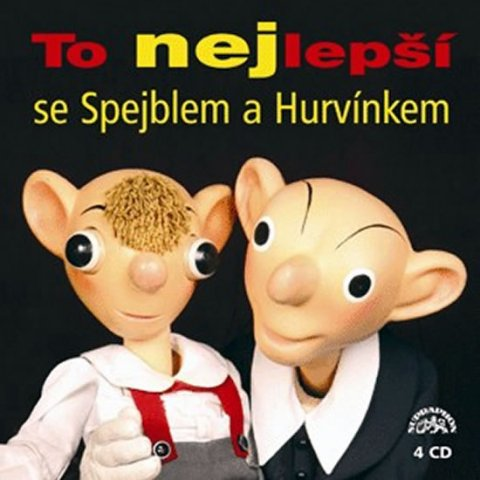 neuveden: To nejlepší se Spejblem a Hurvínkem 4CD
