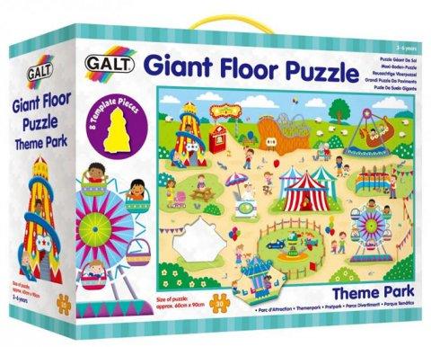 neuveden: Zábavní park - Velké podlahové puzzle