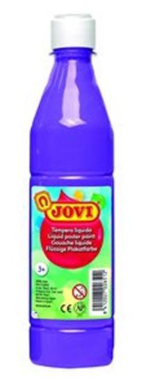 neuveden: JOVI temperová barva 500ml v lahvi fialová