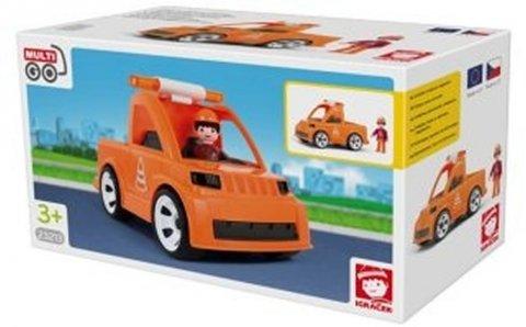 neuveden: IGRÁČEK - Vozidlo silniční údržby s cestářem
