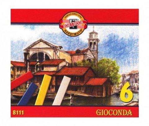 neuveden: Koh-i-noor křídy (pastely) olejové umělecké GIOCONDA souprava 6 ks