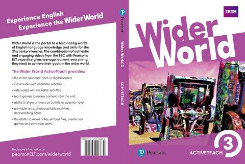neuveden: Wider World 3 Teacher´s ActiveTeach