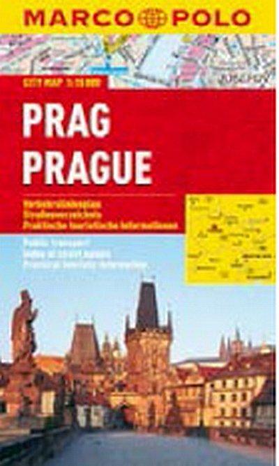 neuveden: Prag/Prague - City Map 1:15000