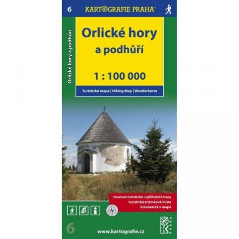 neuveden: 1:100T ( 6)-Orlické hory (turistická mapa)