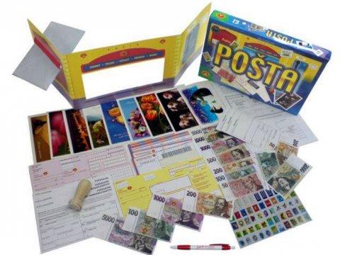 neuveden: Pošta - vzdělávací společenská hra