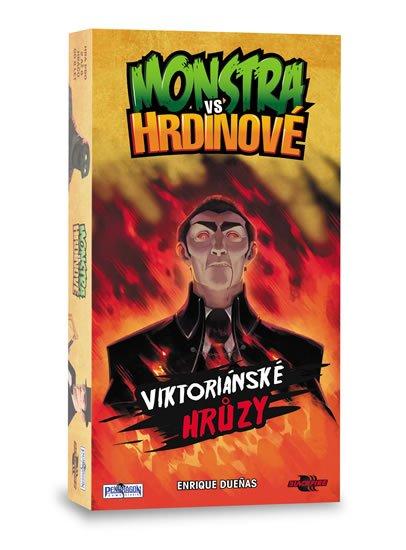 neuveden: Monstra vs. Hrdinové - Desková hra