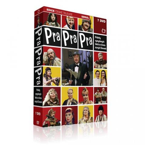 neuveden: Pra Pra Pra - F. Ringo Čech - 7 DVD