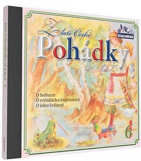 neuveden: Zlaté České pohádky  6. - 1 CD