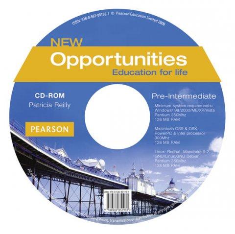 Reilly Patricia: New Opportunities Pre-Intermediate CD-ROM