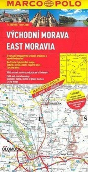neuveden: Východní Morava/ mapa