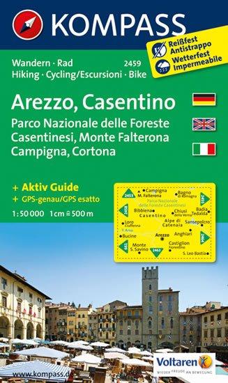 neuveden: Arezzo,Casentino 2459 / 1:50T NKOM
