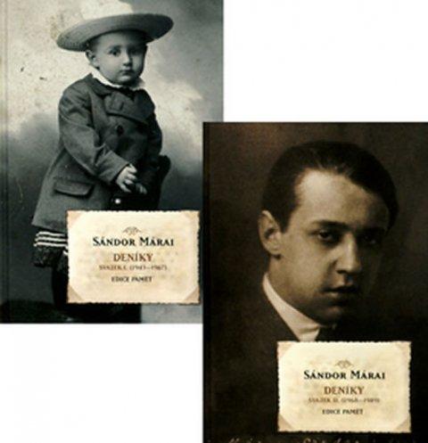 Márai Sándor: Deníky - Svazek I. (1943-1967), Svazek II. (1968-1989)