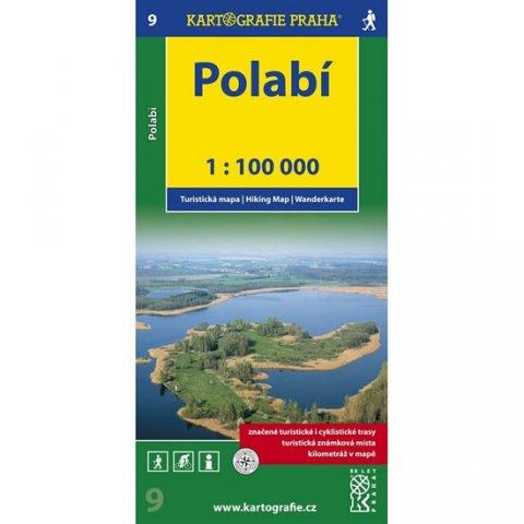 neuveden: 1:100T ( 9)-Polabí (turistická mapa)