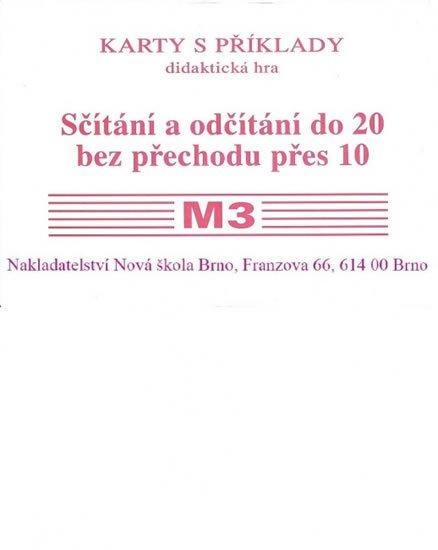 Rosecká Zdena: Sada kartiček M3 - sčítání a odčítání do 20 bez přechodu přes 10