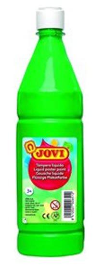 neuveden: JOVI temperová barva 1000ml v lahvi zelená